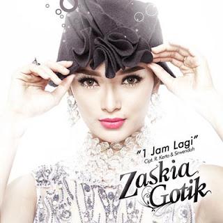 Lirik Lagu Zaskia Gotik - 1 Jam Lagi