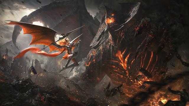 Papel de Parede PC Tumblr Batalha no Inferno