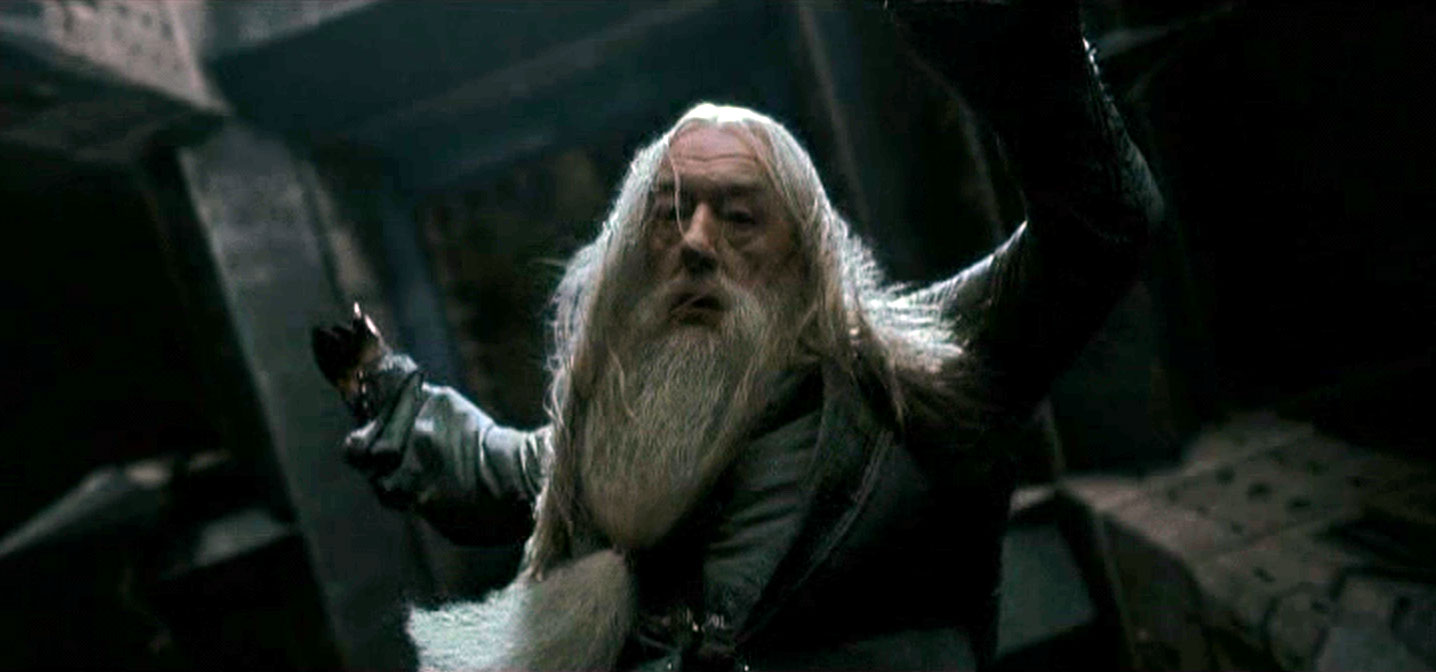 Dumbledore Destroys Ring