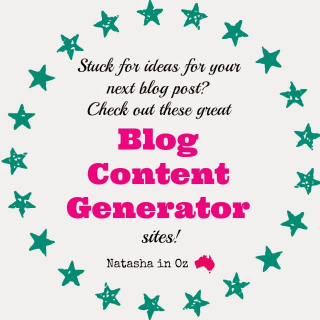 Got Blogger's Block? Stuck for ideas for your next blog post? Check out these great content generator sites!