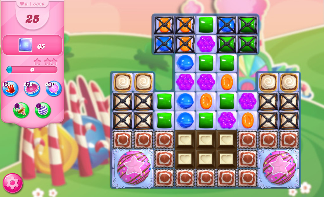 Candy Crush Saga level 6825