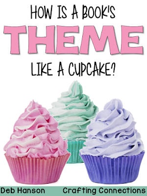 This blog post uses the cupcake analogy to define and explain story themes. Just as creme can be hidden inside the cupcake, the theme is hidden inside a story. This blog post includes free posters, too!