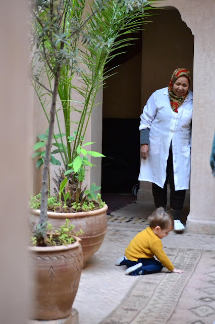 riad Marrakech a golpe de objetivo
