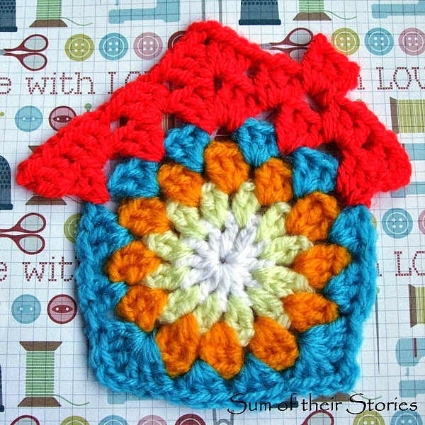 Crochet House Greeting Card