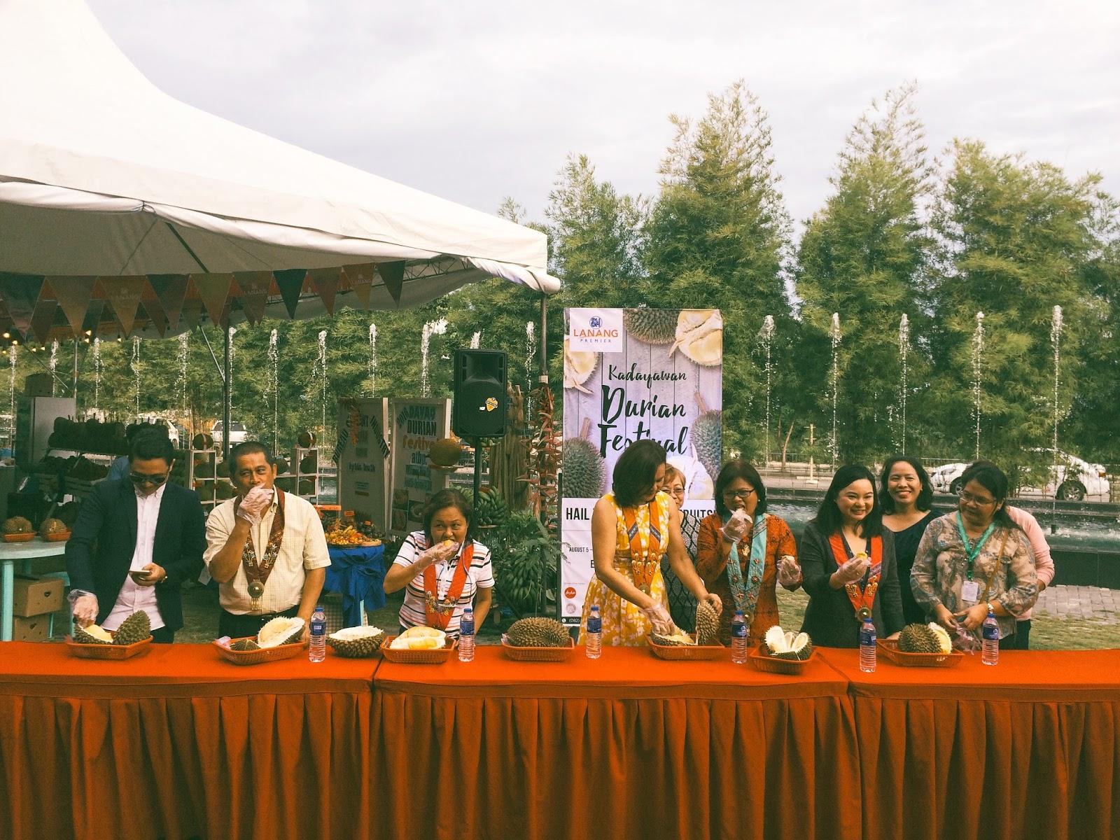 sm lanang premier kadayawan durian festival 2016