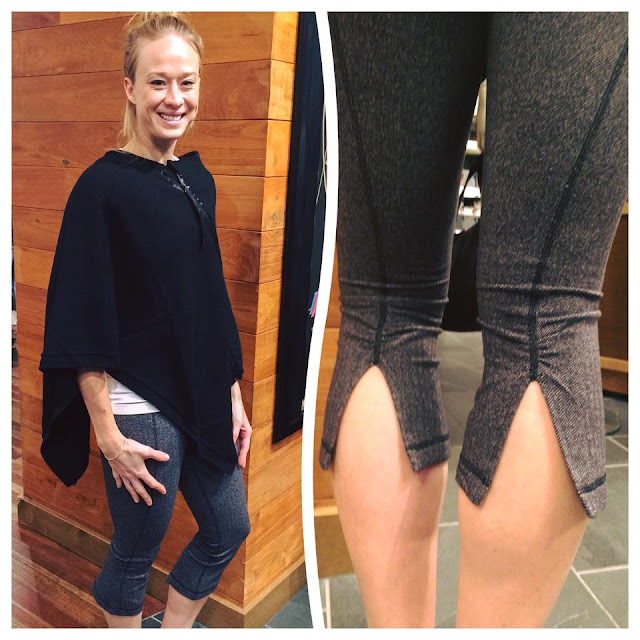lululemon on-the-go-scraf herringbone-gather-and-crow-crop
