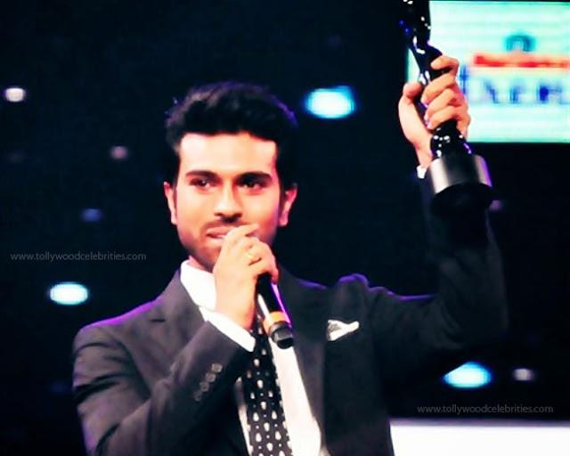 Mega Hero Ram Charan Rewarded Icon Award 2016