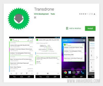 Transdrone Home Server