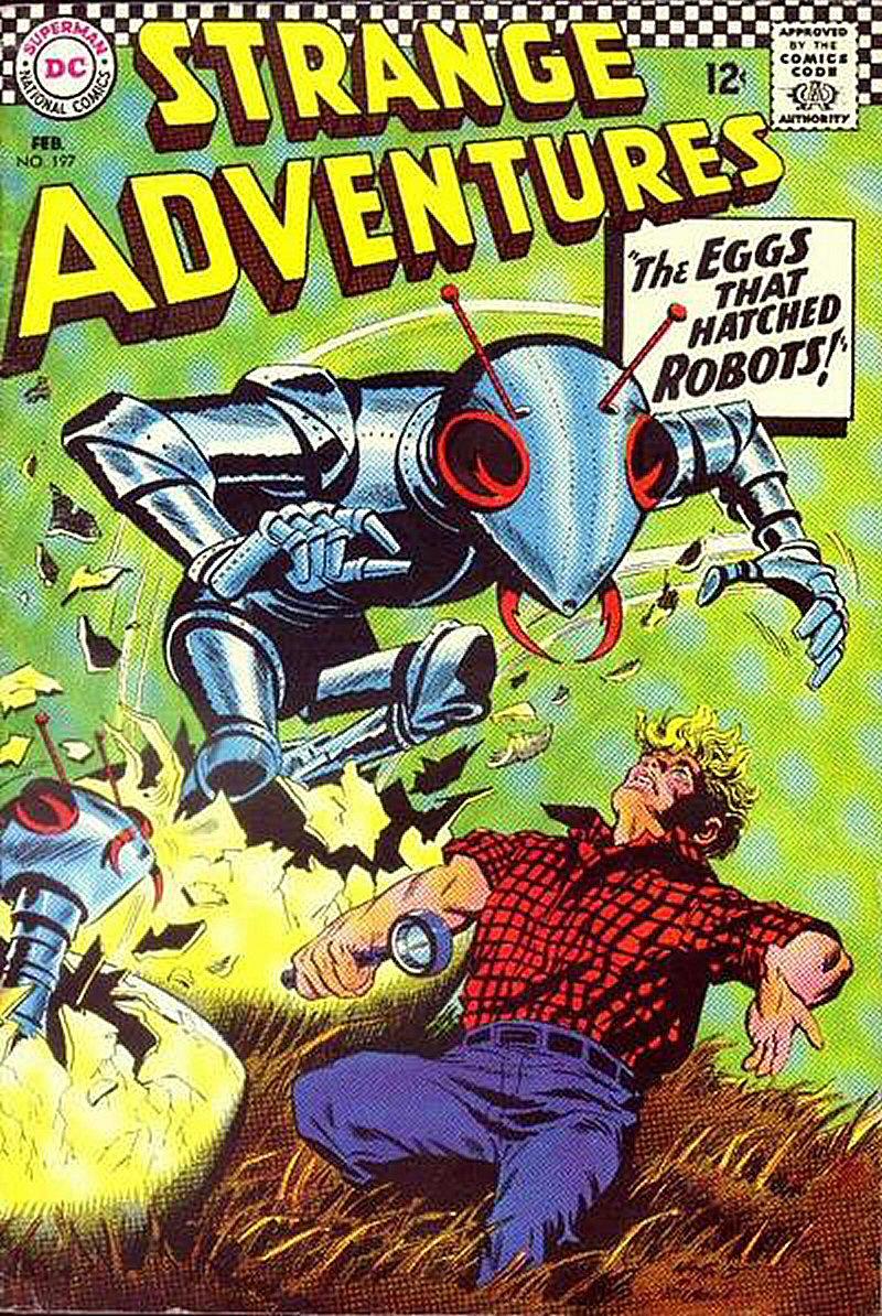 Strange Adventures (1950) 197 Page 1