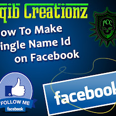 How To Make Single Name ID On FaCebOok