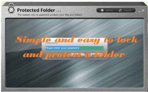 how to lock a folder with encryption software - IObit