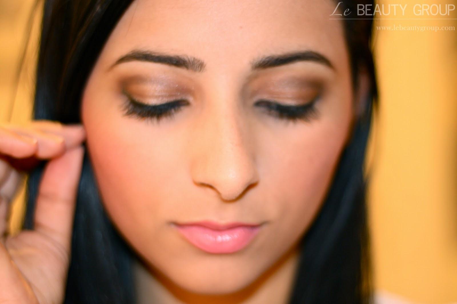 Face Of The Day FOTD Kim Kardashian Daytime Smokey Eye