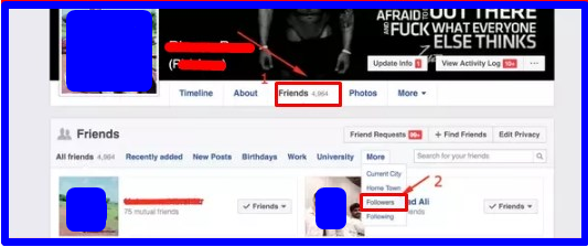 How To Check Followers On Facebook