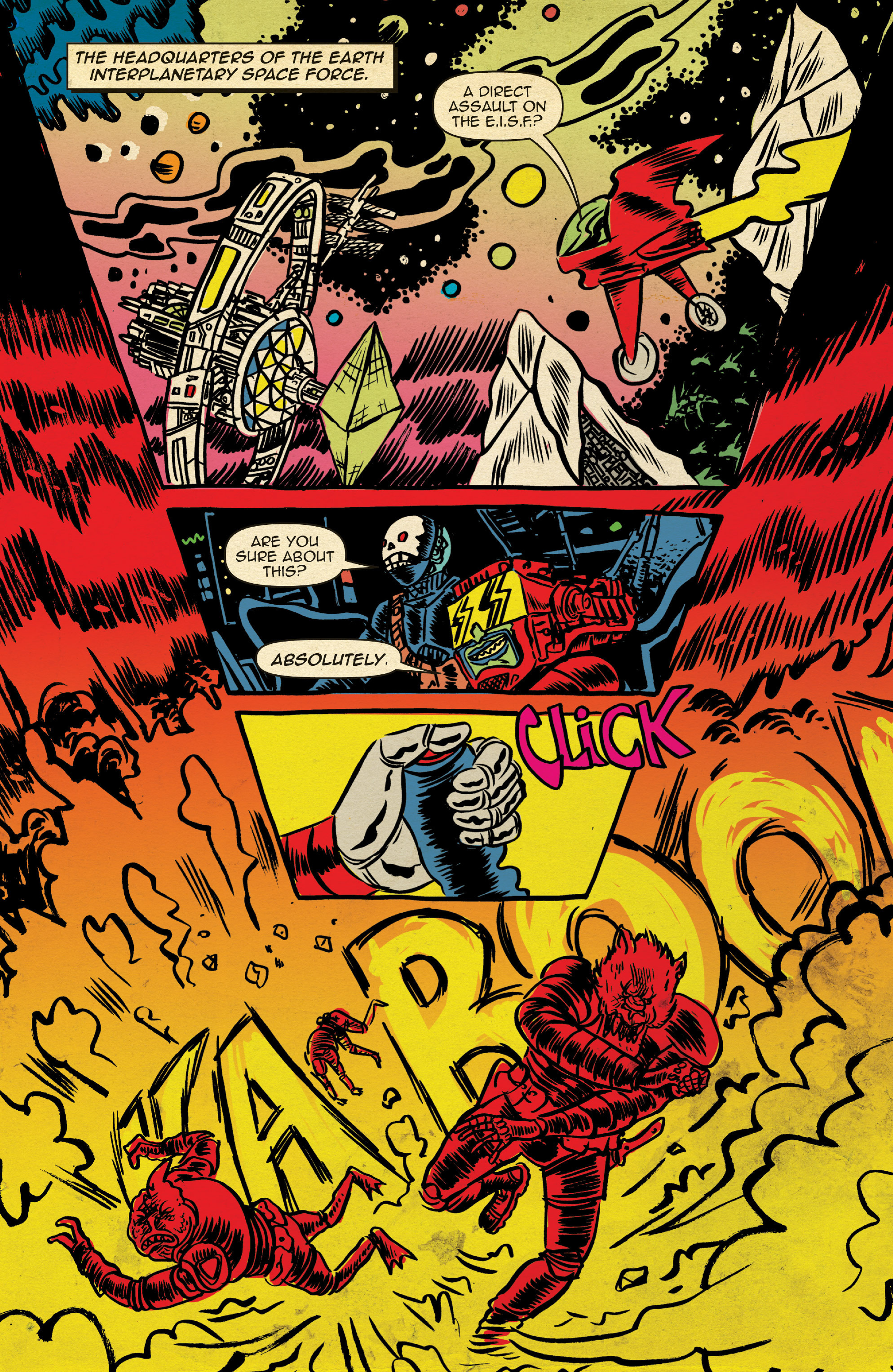 Read online Space Riders comic -  Issue #4 - 8