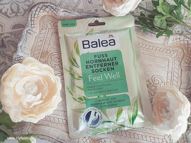 Balea - Fuss Hornhaut Entferner Socken 'Feel Well'