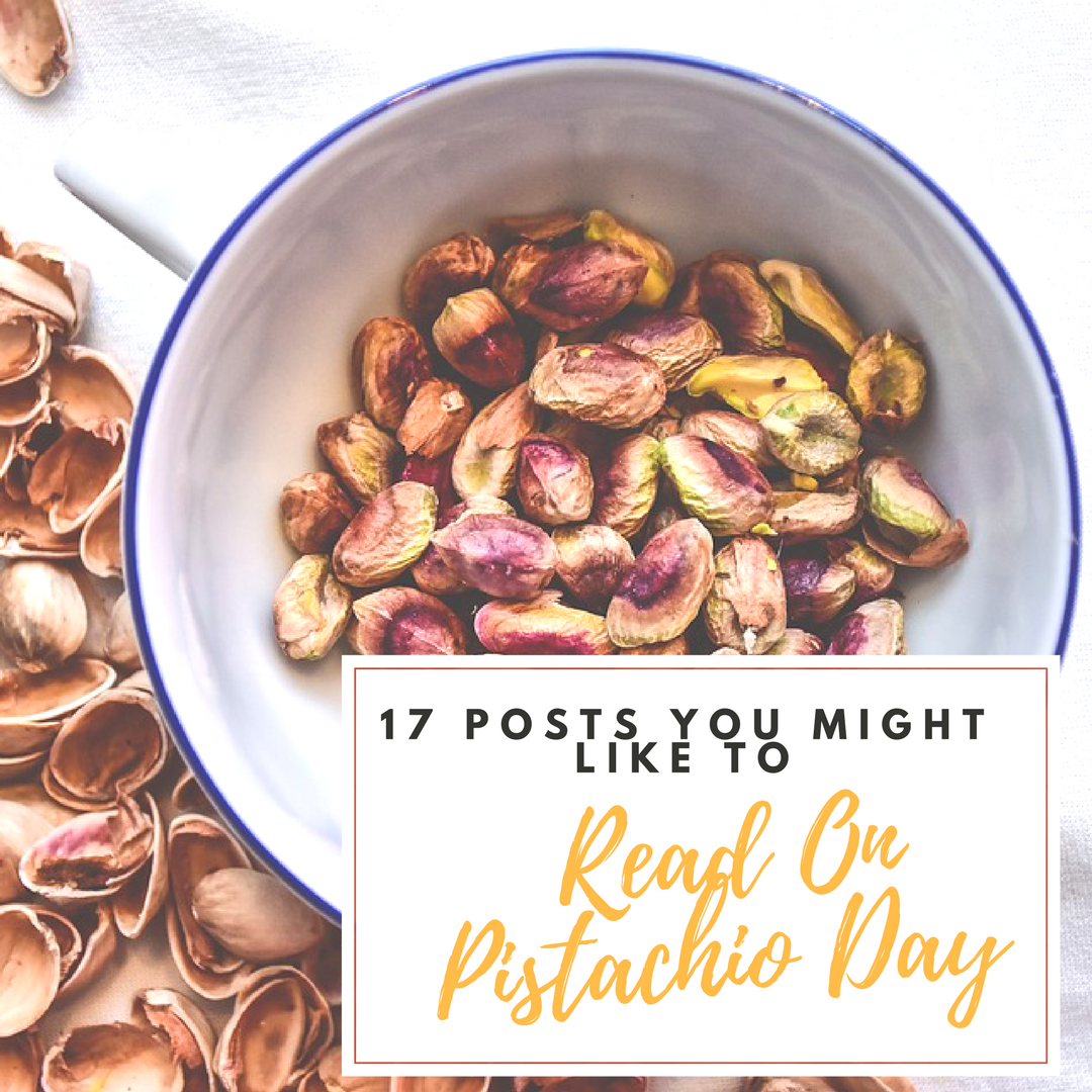 Pistachio Day: Creative Monday Link Up