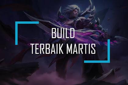 Build Martis Mobile Legends: King Ashura Si Penakluk Iblis