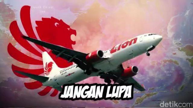 Detik-detik Jatuhnya Pesawat Lion Air JT-610 dalam 13 Menit