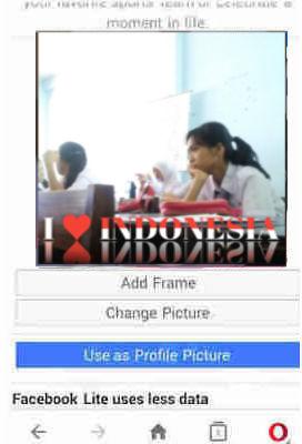 bingkai foto hari kemerdekaan indonesia hut ri