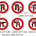 Chú Ý: Từ 1-11: Thay đổi biển giao thông cấm rẽ, quay đầu xe