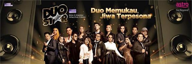 Senarai Peserta Duo Star Astro 2016 Musim Pertama