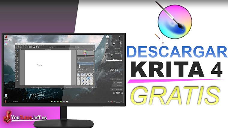 Como Descargar Krita 4 Gratis - Excelente Editor de Imagen