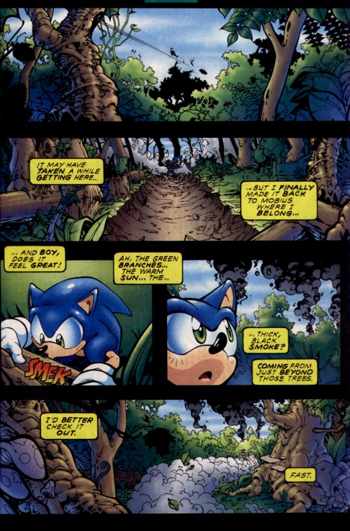 Read online Sonic The Hedgehog comic -  Issue #130 - 4