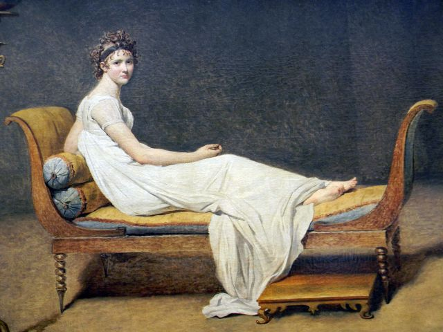 Jacques Louis-David, Paryż, Luwr
