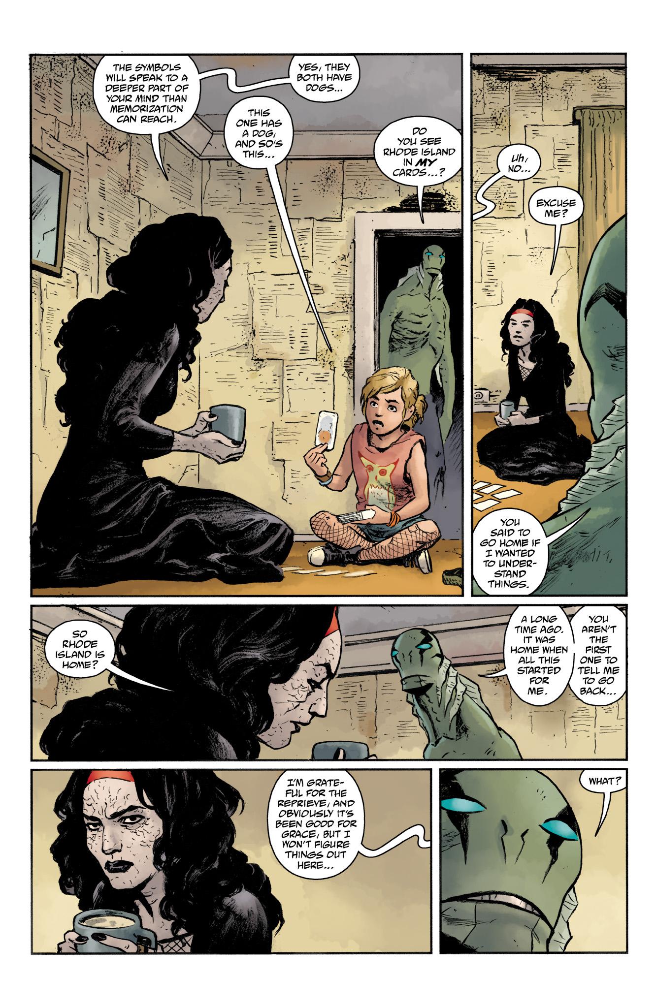 Read online Abe Sapien comic -  Issue #19 - 8