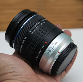 Lensa Olympus 14-42mm for M4/3 Bekas