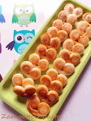 Ventagli di pasta sfoglia - Ricetta facile con la pasta sfoglia