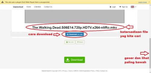 Cara mudah download di Userscloud