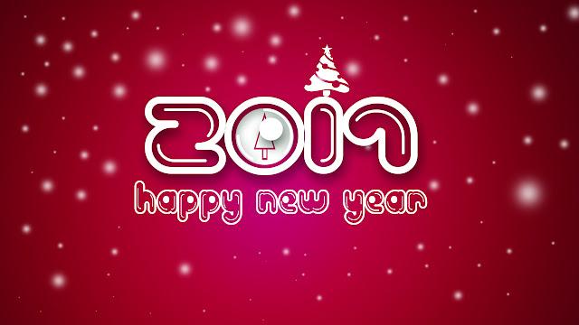 خلفيات ورمزيات العام الجديد فيسبوك Happy New Year 2017