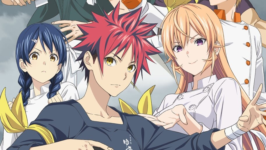Food Wars Anime Characters 4k Wallpaper 31121