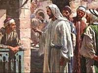 Resultado de imagen para En aquel tiempo, vio Jesús al pasar a un hombre llamado Mateo, sentado al mostrador de los impuestos, y le dijo: «Sígueme.»