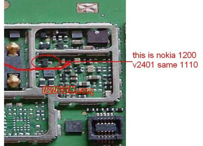 Nokia 1200 Light IC is same like 1110 and 1112 ~ Cellphone