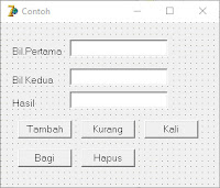 Membuat Interface Kalkulator