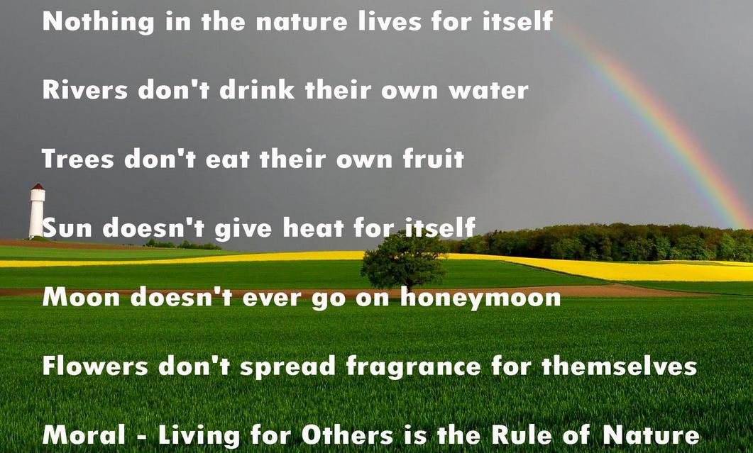 Nature quote