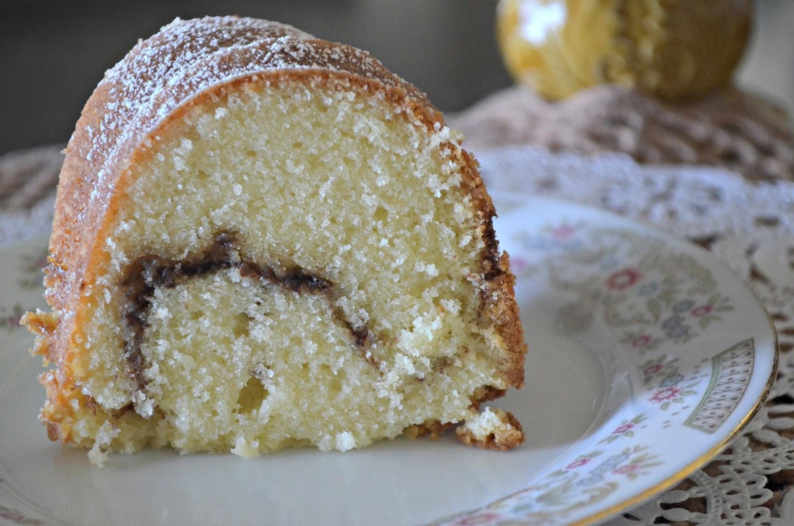 Cinnamon Swirl Pound Cake A Little Baker