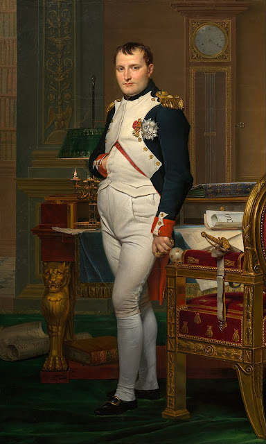 Napoleon Bonaparte in France. Image