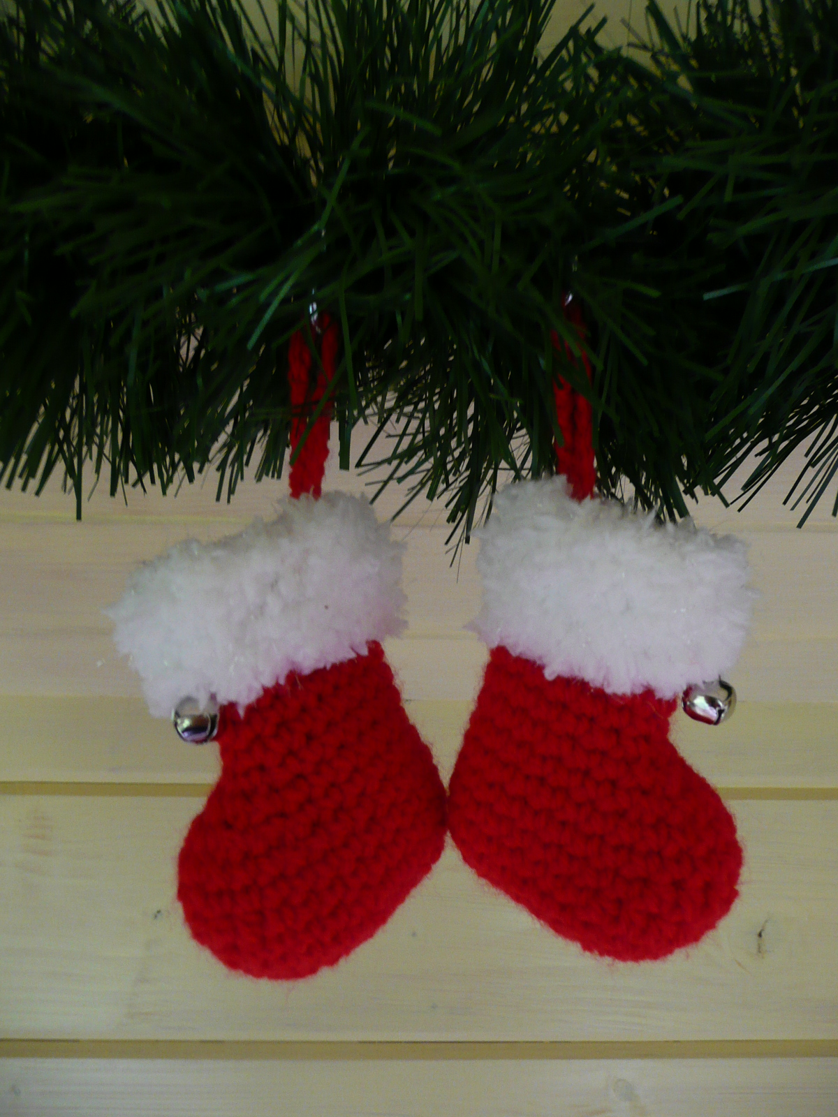 Veras Home Made Kerstsokjes En Wantjes