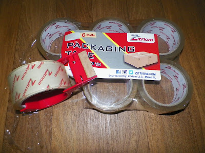 Pack of 6 Packaging Tape From Zitriom