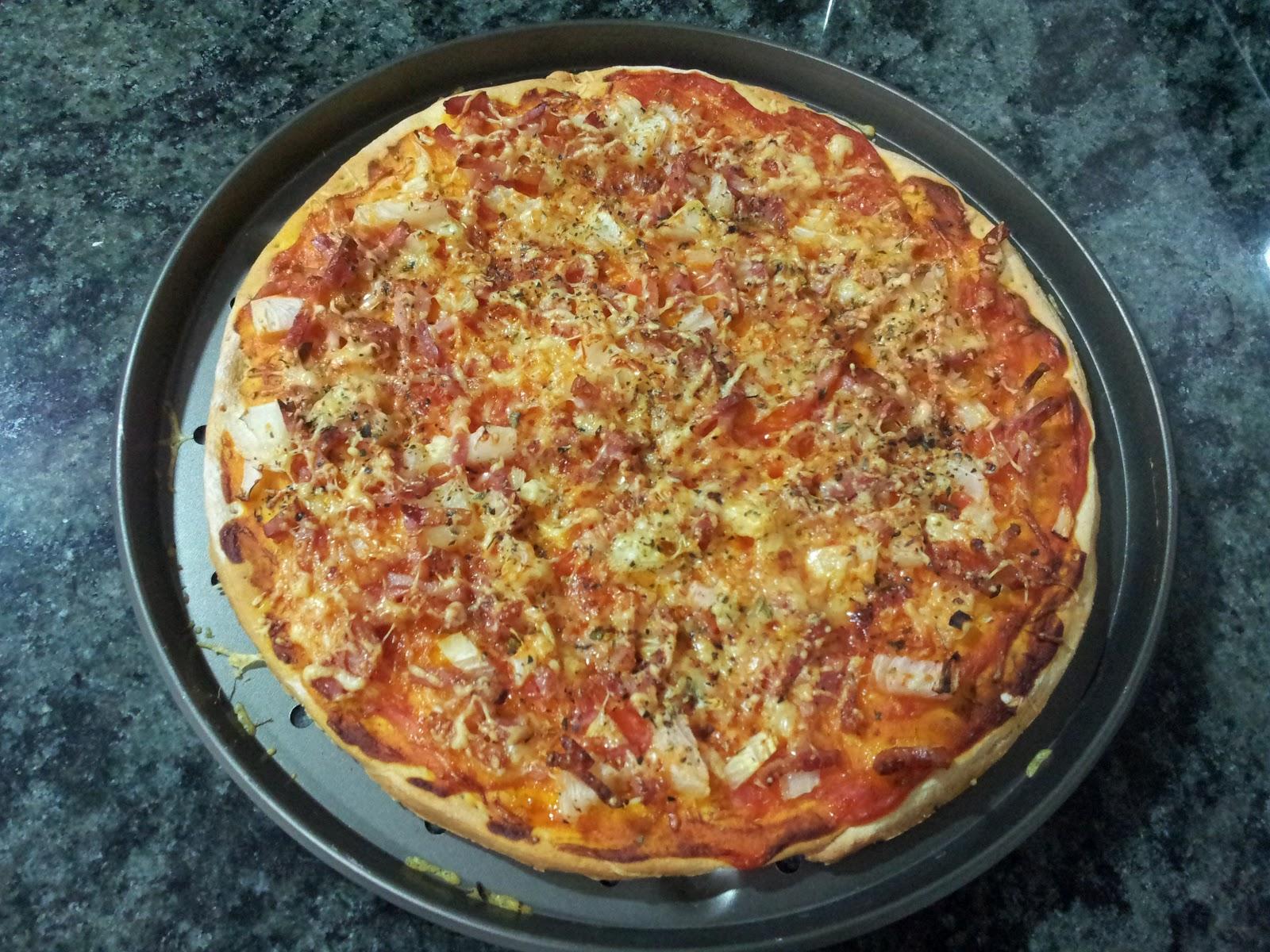 como hacer pizza sin levadura fresca en thermomix