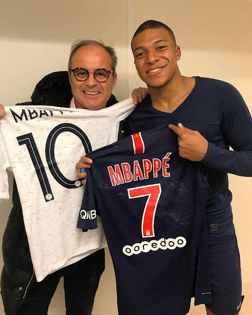 mbappe instagram post
