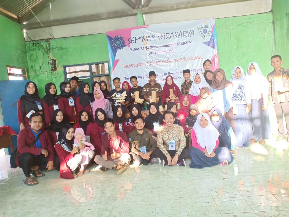 Mahasiswa KKN STKIP Muhammadiyah Bogor Gelar Workshop Inovasi Wirausaha