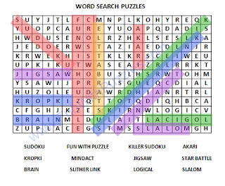 Word Search Puzzle-2 Solution