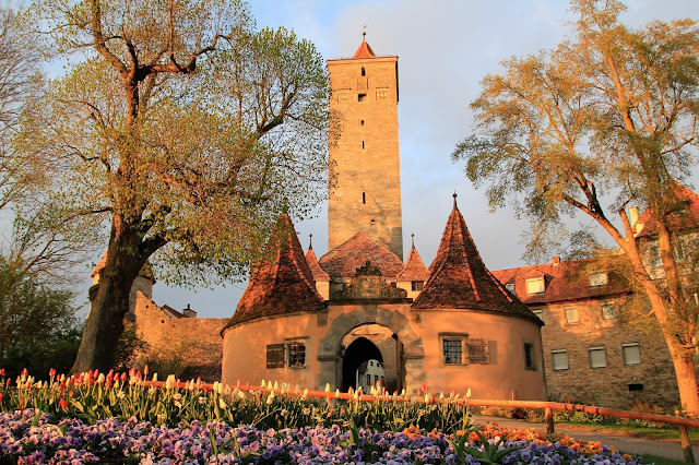 Rothenburg ob der Tauber linnapuisto