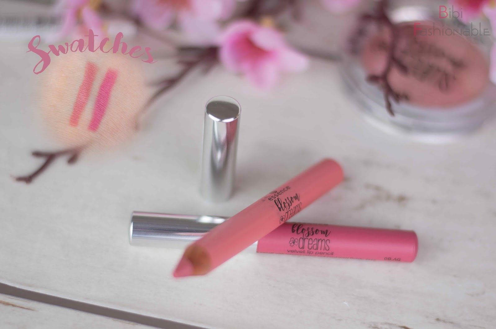 essence blossom dreams velvet lip pencil