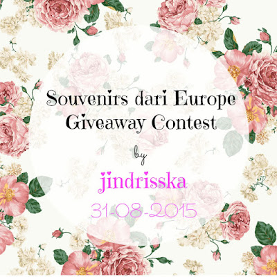 Souvenirs dari Europe Giveaway Contest