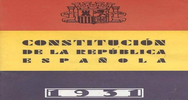 Constitución de 1931 y Derecho Constitucional